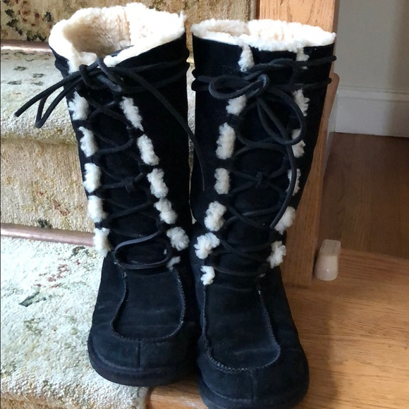 5beb48d41ad Ugg Whitley Lace Up Boots